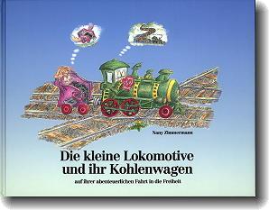 Die kleine Lokomotive Kinderbuch von Nany Zimmermann